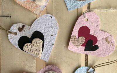 L'oggettistica di San Valentino sarà presente a Ca Vaina da lunedì sera