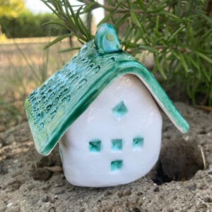casetta in ceramica